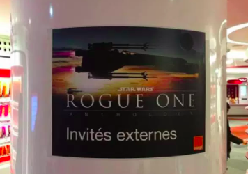Projection privée Orange – Star Wars : Rogue One